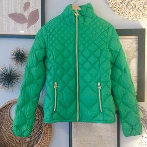 Michael Kors Packable Quilted Down Jacket
